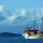 Aurora liveaboard boat diving cruise indonesia full view