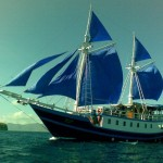 Blue Dragon liveaboard boat diving cruise indonesia full view