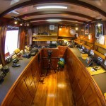Damai I liveaboard diving cruise indonesia interior