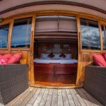 Damai I liveaboard diving cruise indonesia deck