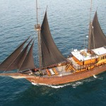 El Aleph liveaboard boat diving cruise indonesia full boat view