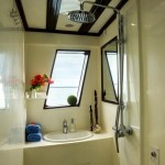 Euphoria Liveaboard diving cruise indonesia dinning cabin