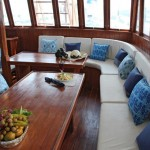 Pearl of Papua liveaboard diving cruise indonesia interior