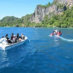 Pearl of Papua liveaboard diving cruise indonesia speedboat