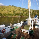 Pindito liveaboard boat diving cruise indonesia deck