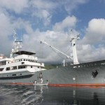 Salina liveaboard charter yacht diving cruise indonesia profile