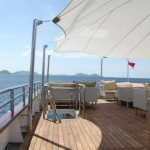Salina liveaboard charter yacht diving cruise indonesia deck