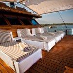 Samata liveaboard boat diving cruise indonesia deck