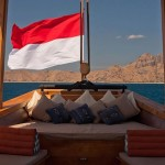 Si Datu Bua liveaboard boat diving cruise indonesia deck