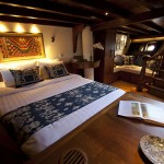 Si Datu Bua liveaboard boat diving cruise indonesia cabin