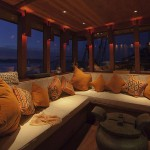 Si Datu Bua liveaboard boat diving cruise indonesia interior