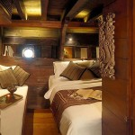 Silolona liveaboard boat diving cruise indonesia cabin