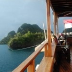 Silolona liveaboard boat diving cruise indonesia deck