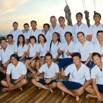 Waow liveaboard ship diving cruise indonesia crew