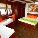 Waow liveaboard ship diving cruise indonesia superior cabin