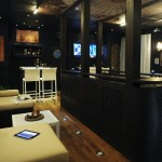 Zen liveaboard boat diving cruise indonesia bar and dinning area