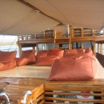 Plataran Ambasi liveaboard boat diving cruise indonesia deck