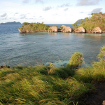 Misool Eco Resort-dive cruise indonesia-water cottage front view