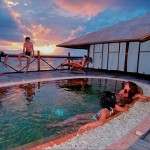 Walea Dive Resort-dive cruise indonesia-hydrotherapy spa at sunset